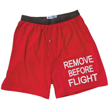 Remove Before Flight Mens Boxers