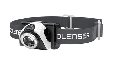 LED Lenser SEO 5 LED Head Torch - Grey