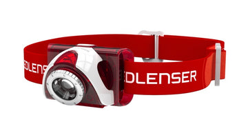 LED Lenser SEO 5 Headlamp - Red