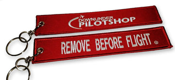 Logo - Remove Before Flight Keychain