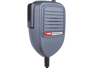 GME Electret Mic with Telephone Plug & CH8 button Grey