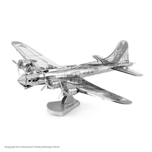 Metal Earth B-17 Flying Fortress-Metal Earth-Downunder Pilot Shop Australia