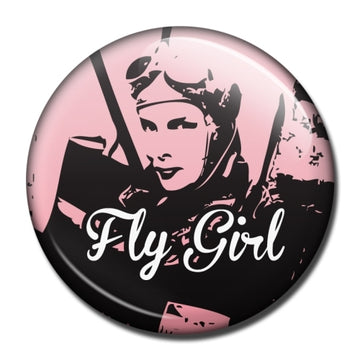Fly Girl Fridge Magnet