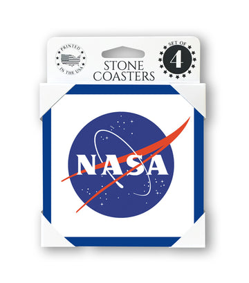NASA Meatball Stone Coasters