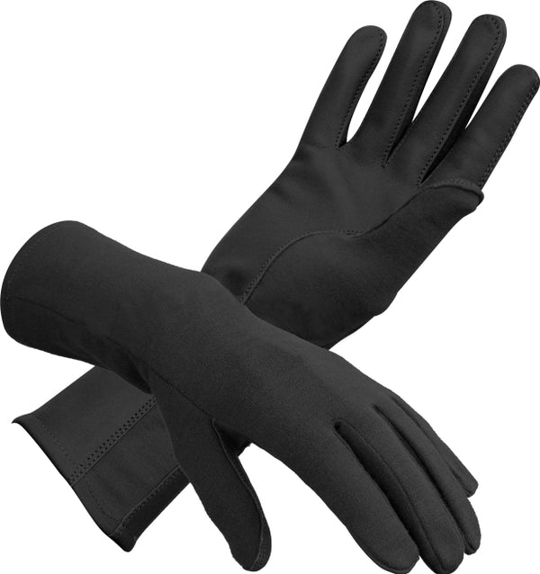 Nomex Aviator Gloves - Black-Downunder-Downunder Pilot Shop Australia
