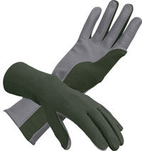 Nomex Aviator Gloves - Green-Downunder-Downunder Pilot Shop Australia