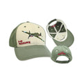 P-40 Warhawk Cap - Olive and white