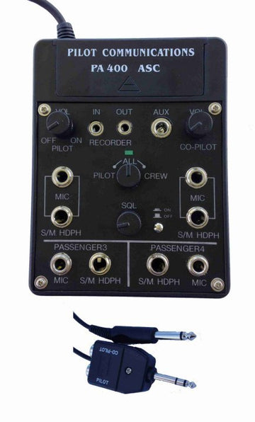 Pilot PA400S Four Place Stereo Intercom