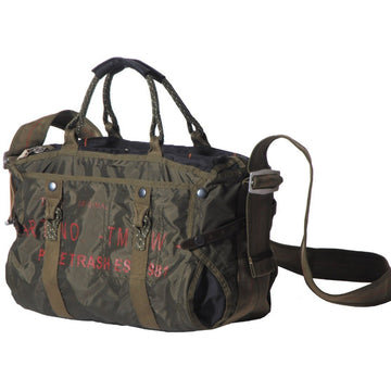 Pure Trash Large Military Shoulder Bag