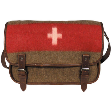 Pure Trash Retro Swiss Military Shoulder Bag