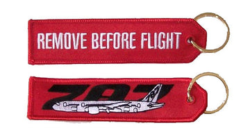 Remove Before Flight - Boeing 787 Keychain