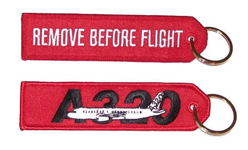 Remove Before Flight - Airbus A320 Keychain