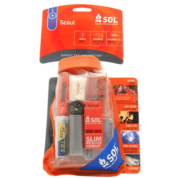 SOL Waterproof Scout Survival Kit