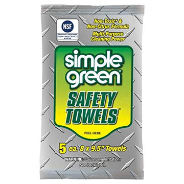 Simple Green Safety Towels - 5 Sheets