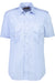 Mens Short Sleeve Pilot Dress Shirt Blue-Corinthian-Downunder Pilot Shop Australia