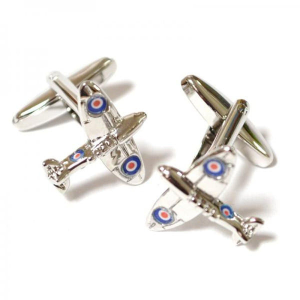 Spitfire Cufflinks-Signature Aviation Jewellery-Downunder Pilot Shop Australia