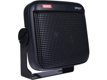 GME 8 ohm dust/water resistant extension speaker with lead & plug black