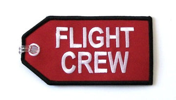 Flight Crew Embroidered Luggage Tag