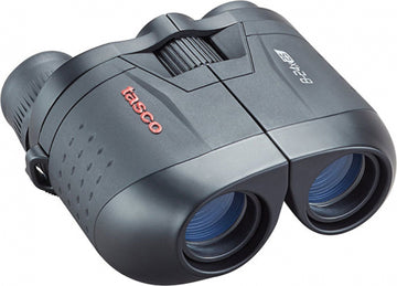 Tasco Binoculars - Essentials 8-24x25mm Blk Zoom