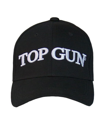 Top Gun Signature Logo Cap - Black