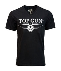 Top Gun 3D Logo Tee - Black T-Shirts Top Gun TGM1900-L Downunder Pilot Shop Australia