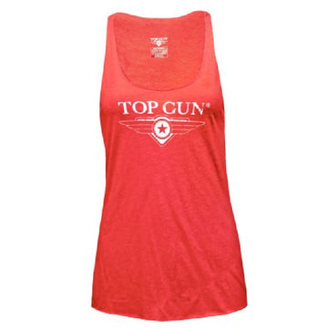 Top Gun Ultra-Soft Logo Women's Tank Top