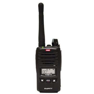 GME TX677 2 Watt UHF CB Handheld Radio, Single Unit