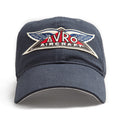 Red Canoe Avro Aircaft Cap - Navy