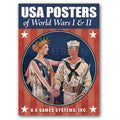 USA Posters of World Wars I and II  Playing Cards