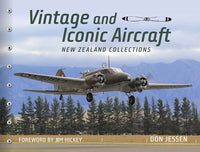 Vintage and Iconic Aircraft - New Zealand Collection-Bateman Books-Downunder Pilot Shop Australia