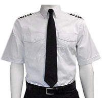 Van Heusen Mens Short Sleeve Aviator Shirt-Van Heusen-Downunder Pilot Shop Australia