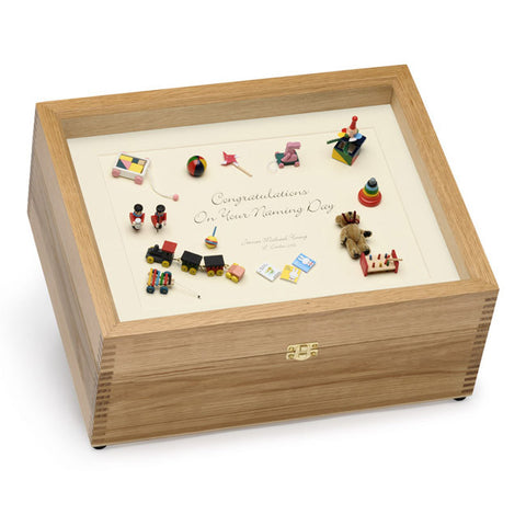 Baby Naming Day Memory Box