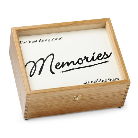 """Memories"" Memory Box (Black)"
