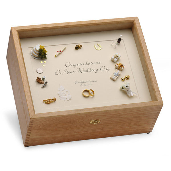 Keepsake Boxes and Gifts for Weddings