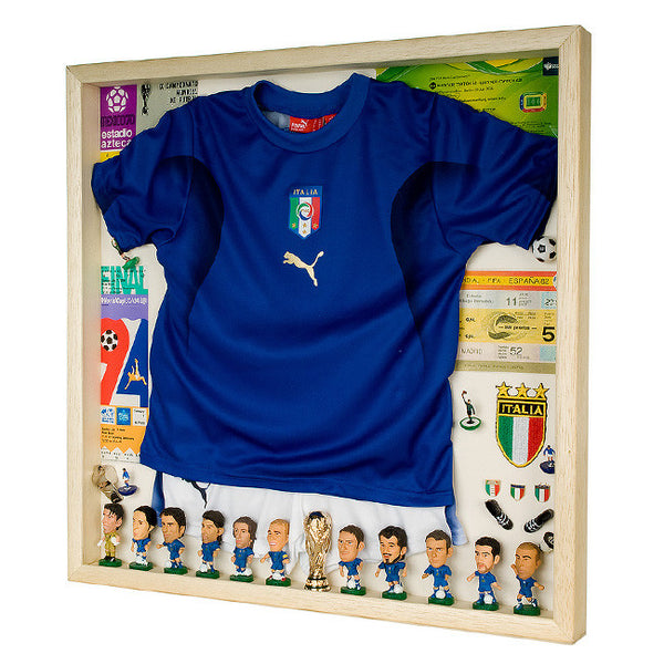 Italy Football Display Case