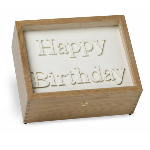 Happy Birthday Memory Box