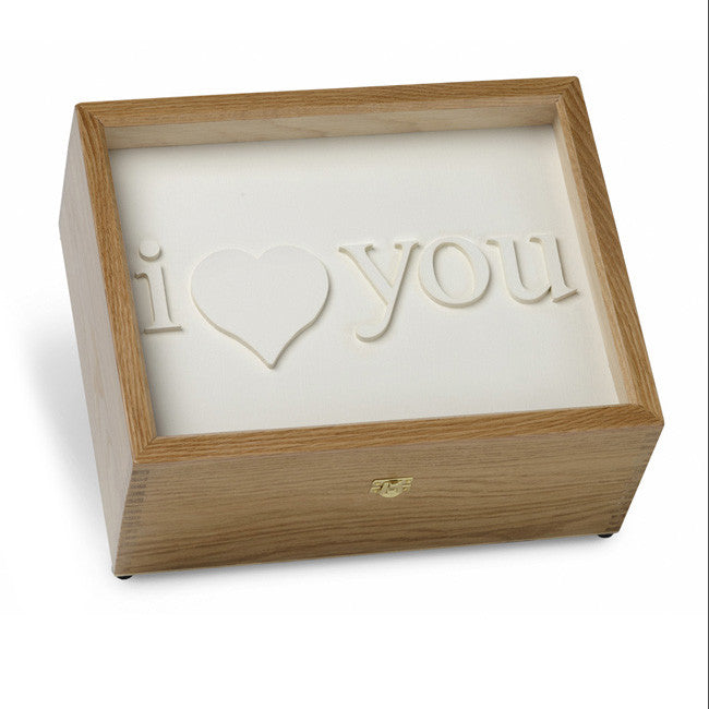 """I Love You"" Memory Box"