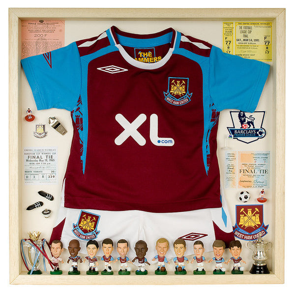 West Ham Football Display Case