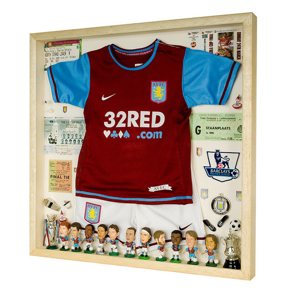 Aston Villa Football Display Case