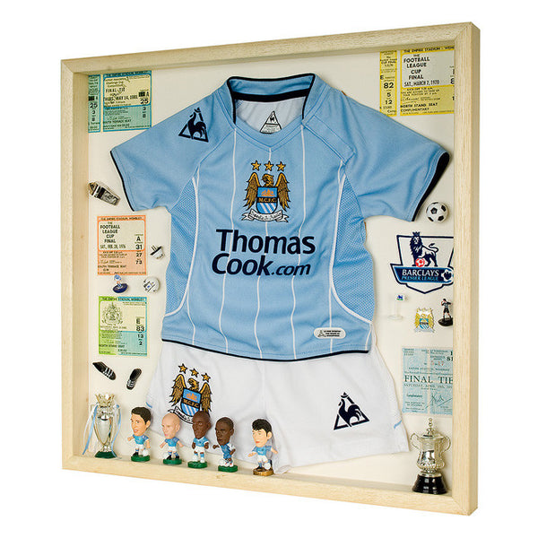 Manchester City Football Display Case