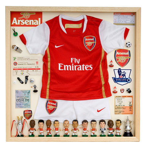 Arsenal Football Display Case