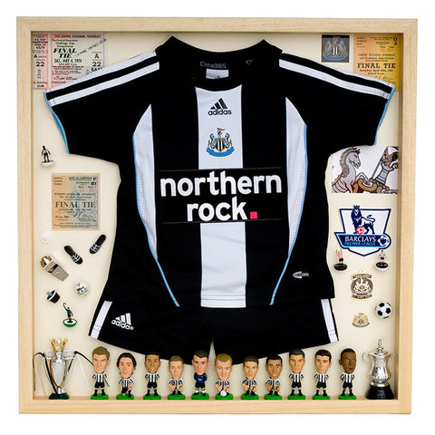 Newcastle United Football Display Case