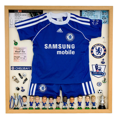 Chelsea Football Display Case