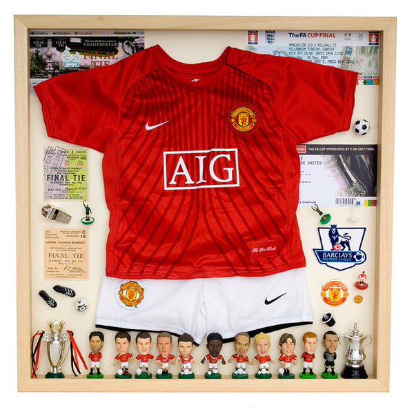 Manchester United Football Display Case