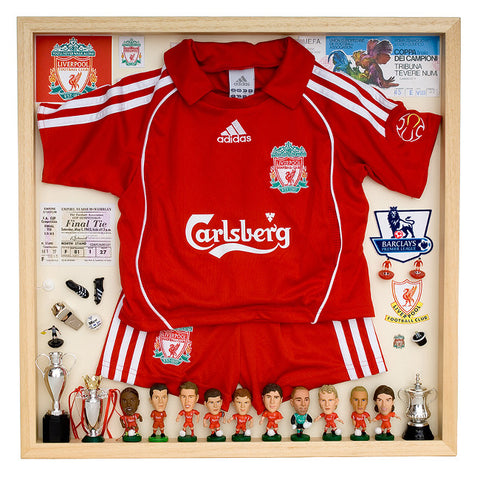 Liverpool Football Display Case