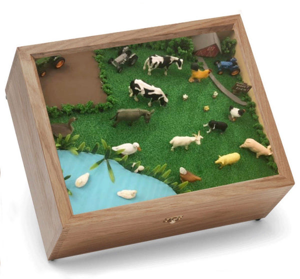 Farm Keepsake and Memory Box