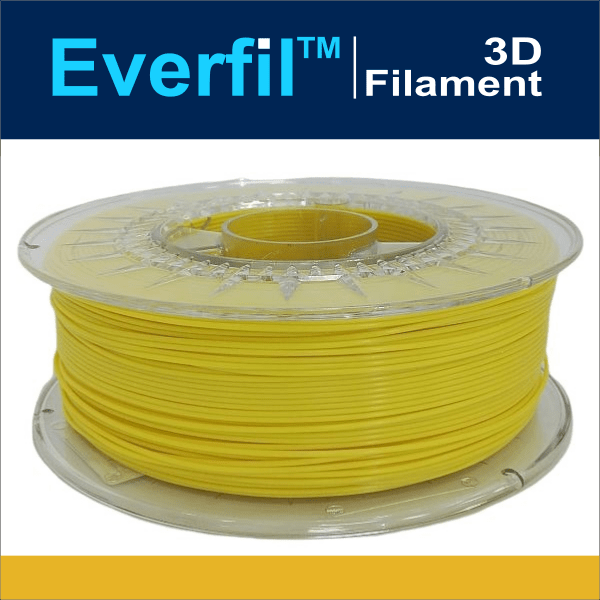 Everfil PLA Filament 1.75 - 1kg - CITROEN GEEL - DealZZ