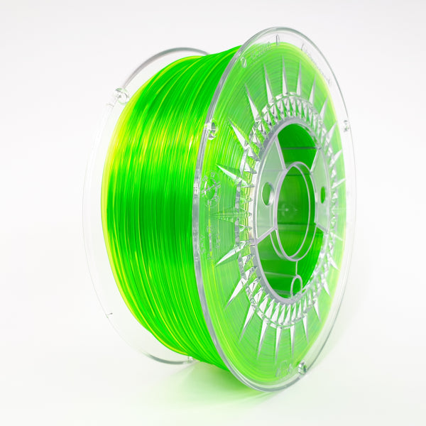Devil Design PETG Filament 1.75 - 1Kg - HELDER GROEN TRANSPARANT - DealZZ