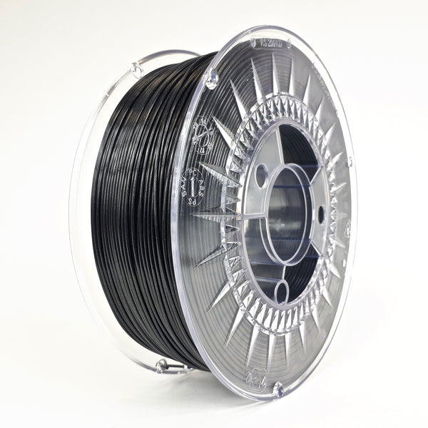 Devil Design PETG Filament 1.75 - 1Kg - GALAXY ZWART - DealZZ