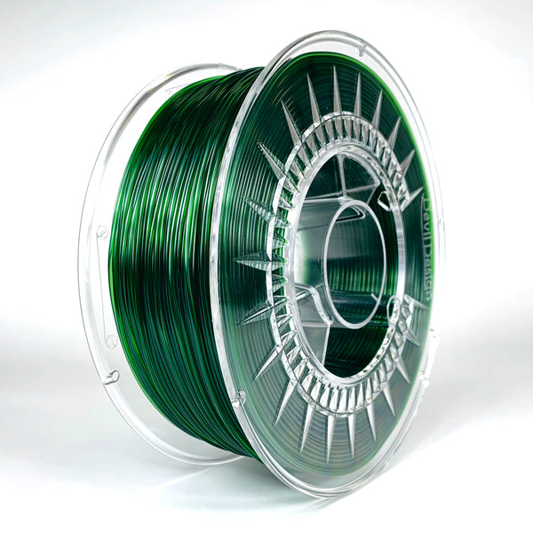 Devil Design PETG Filament 1.75 - 1Kg - GROEN TRANSPARANT - DealZZ